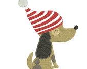 Custom Pirate Puppy Christmas Stocking Free Shipping