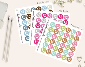 On Call Planner Stickers for Erin Condren Planner, Filofax, Plum Paper | Item MP-034