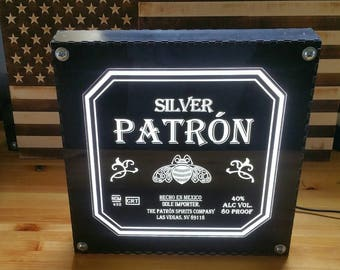 Patron Tequila LED Sign