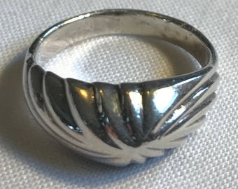 Sterling Silver Ring-Size 7