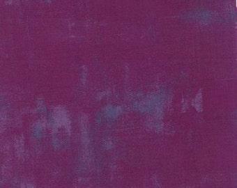 Fabric by the Yard -Grunge Basic in Plum- by Basic Grey for Moda