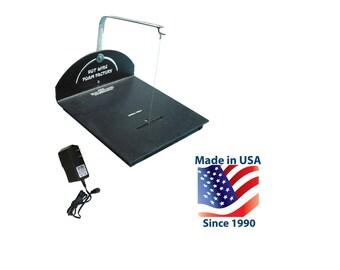 Electric Hot Wire Scroll Table Router Cutter Styrofoam Polystyrene EPS XPS Foam 90-Day Warranty
