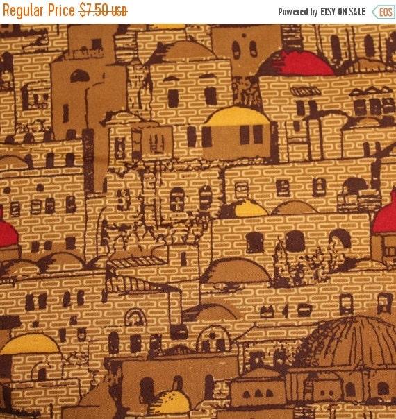 Greek fabric,Greek Isle fabric,Greek buildings fabric,100% Cotton fabric,Quilt fabric Apparel fabric,Craft fabric,By the YARD