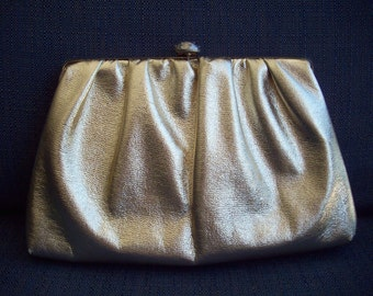 Gold Handbag/Clutch
