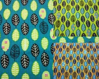 Tree, fat quarter, pure cotton fabric