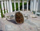 SALE - Ammonite Sterling Silver Bracelet or Necklace