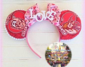 RTS aWeSoMe Superhero LOVE Mouse Ears!!