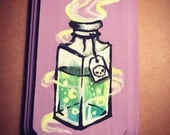 Drink Me Poison Bottle Painting