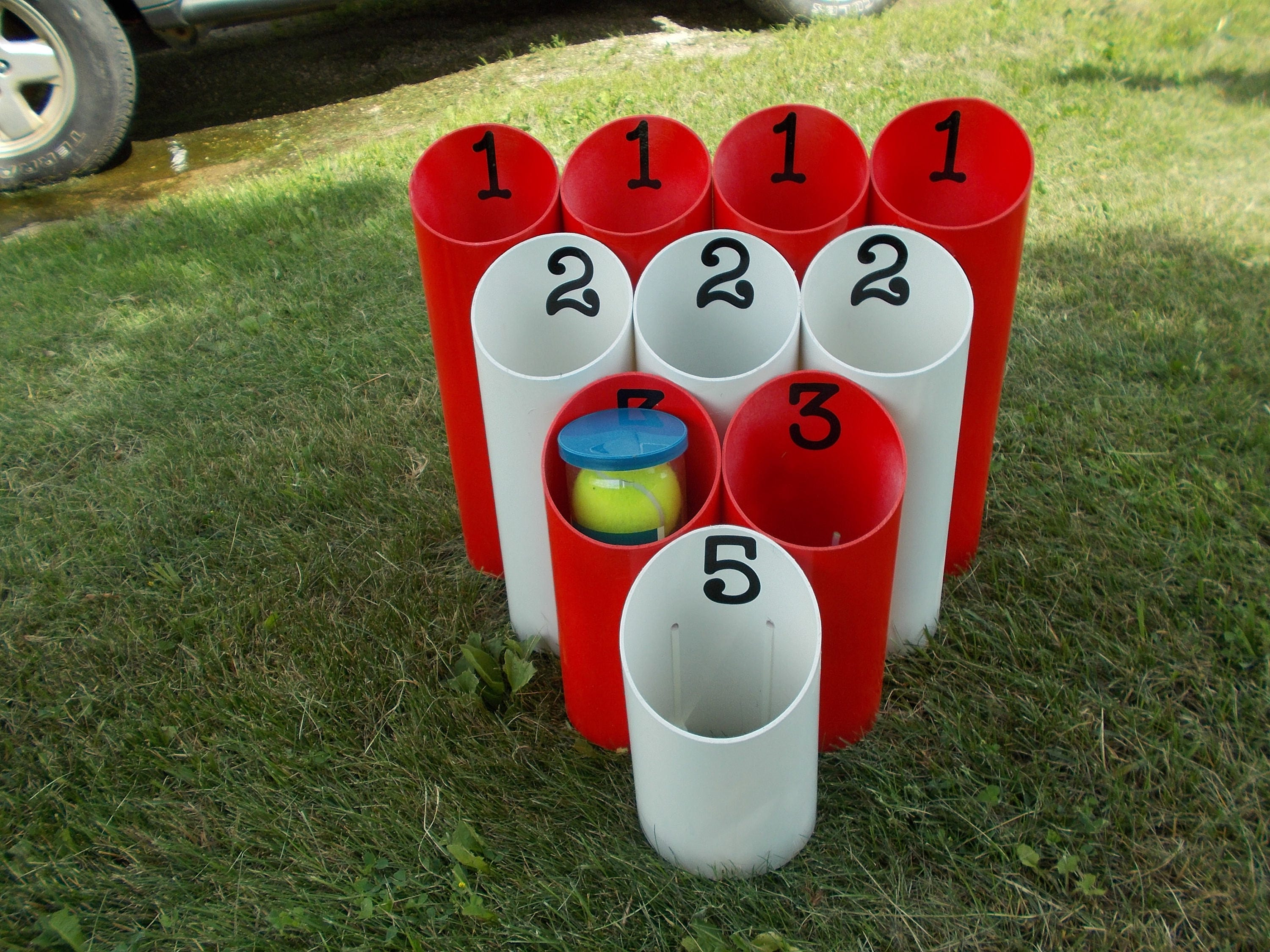 Pipe Ball Yard Game Outdoor Game Family Game Team Game Lawn