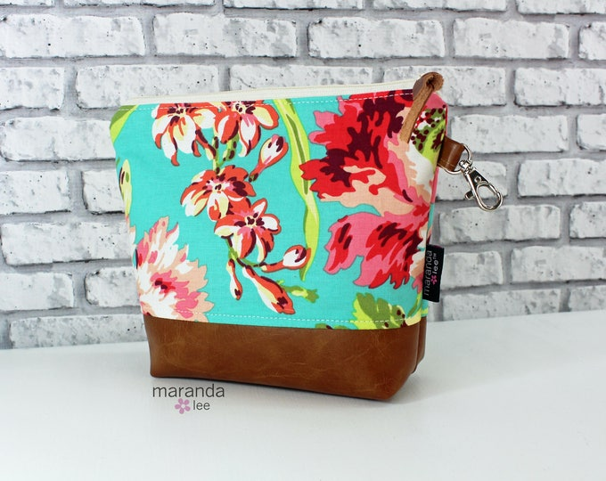 AVA Medium Clutch - Bliss Coral -  READy to SHIP