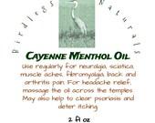 Cayenne-Menthol Oil