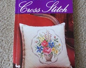 Floral Designs In Cross Stitch - Vintage Cross Stitch Patterns