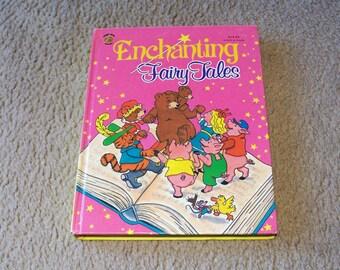 Enchanting Fairy Tales Children's Book - Vintage Honey Bear Book