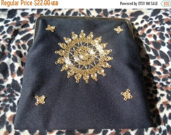 Now On Sale Stunning Vintage Little Black Purse Mad Men Mod Hollywood Boho Collectible Clutch Handbag Bag Martini Mermaid