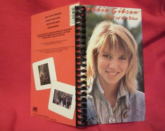"Debbie Gibson ""Out of the Blue"" VHS notebook"