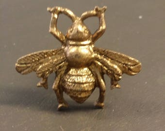 Gold vintage bee draw & cabinet handle,Pull,Knob