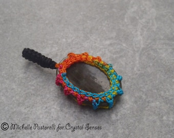 Labradorite Worry Stone Pendant (WSPLB0011)