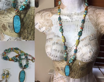 Sundance Inspired Bohemian Necklace Set