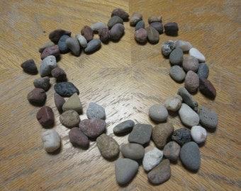 50 Textured Beach Stones Lake Michigan Stone Craft SuppliesRock SuppliesMosaic Stones