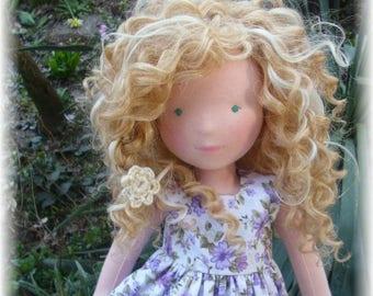 JULY 2017 - Custom Waldorf  Doll Deposit for 15, 17, 19 inches doll