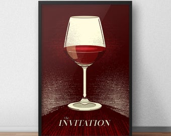 The Invitation 12 x 18 Inch Poster - Horror Movie Poster