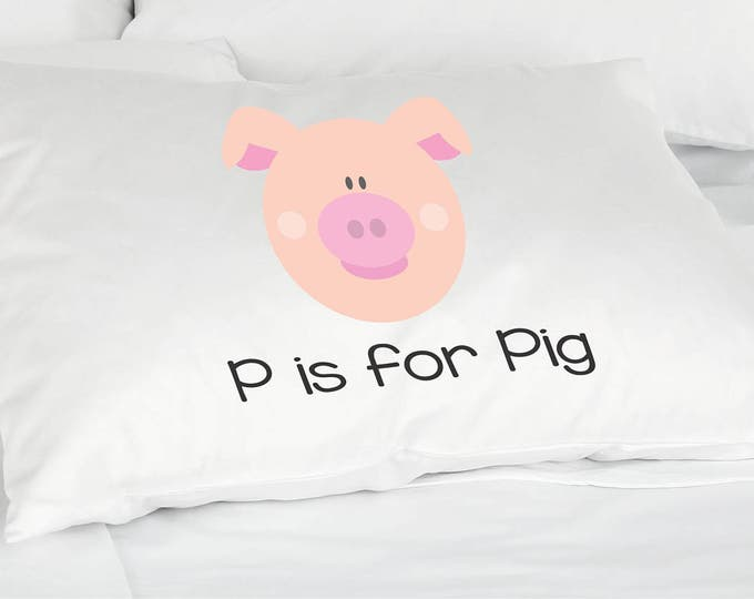 Personalized Gift -  Kids Pillow Case - Stocking Stuffer -Nursery Decor