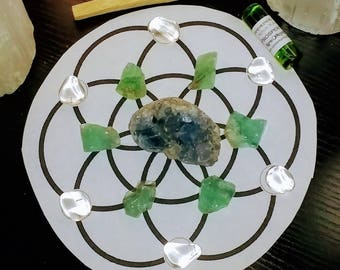 Abundance and Healing Grid Set