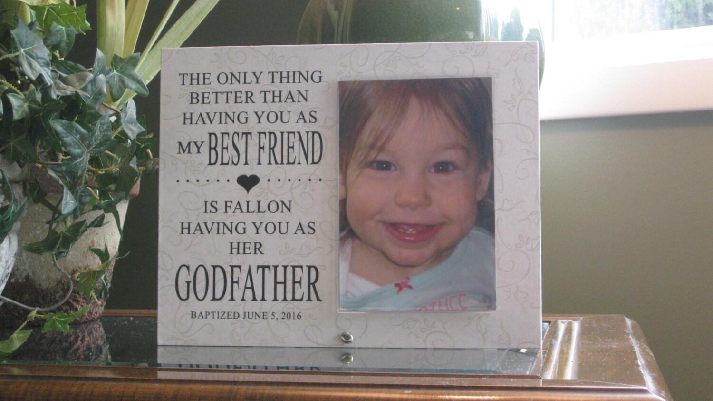 Personalized godfather gift personalized godfather frame 3500 jeuxipadfo Image collections
