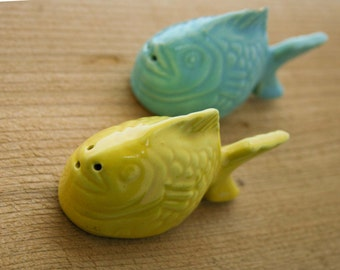 Bauer - Chicken of the Sea-  Salt & Pepper Shakers
