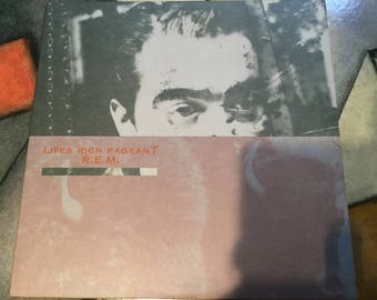 REM Lifes Rich Pageant On IRS Records 1986