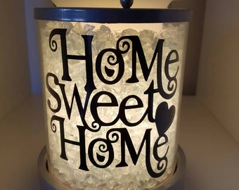 Home Sweet Home Decal for Candle Warmer (Decal Only)