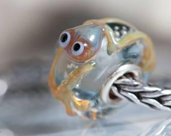 Small Core Artisan Bead Frog SRA Lampwork Beads BHB