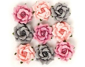 Prima Marketing Rose Quartz Flower Embellishement Thassos New Release In Stock Ready To Ship
