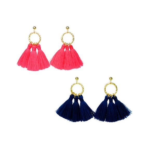Tassel Chandelier Earring