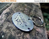 ON SALE Aluminum Pet Id Tag, Oval,Personalized, Small Pet Tag, Lightweight Tag, Unique Pet Id Tag, Gunmetal Wire