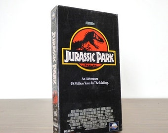Movie Sale 1994 Jurassic Park VHS New and Sealed Video Movie Tape