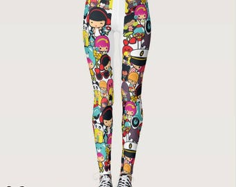 Tiniez all-over-print Leggings / Tights