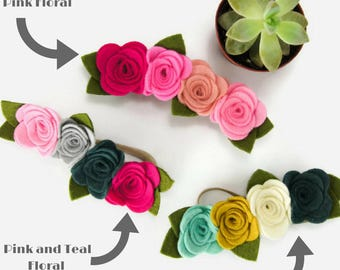 Baby Headbands - Baby Flower Headbands