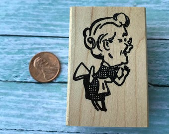 Happy Cook Rubber Stamp
