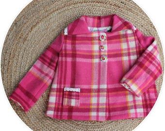Girls Woollen Jacket Winter Jacket size 5