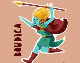 Boudica Print