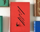 Time to Remember Book Clock