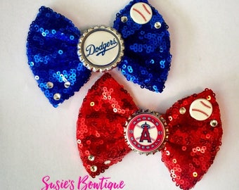 Pro-Team Bottle-Cap Bow **FREE SHIPPING**