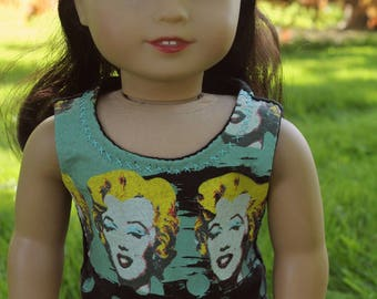 american girl doll top: andi