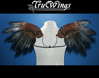 Steampunk Angel Wings Costume OOAK