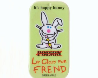 Happy Bunny Green Apple Lip Balm