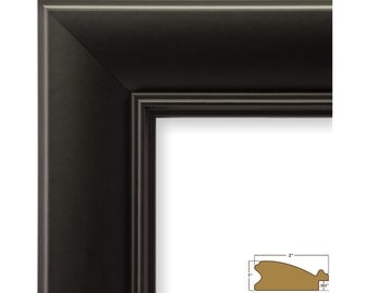 Craig Frames, 16x20 Inch Black Picture Frame, Verandah, 2-Inch Wide (2124051620)
