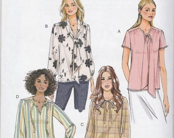 Nice Shirt Pattern Butterick 6378 Sizes 6 - 14 Uncut