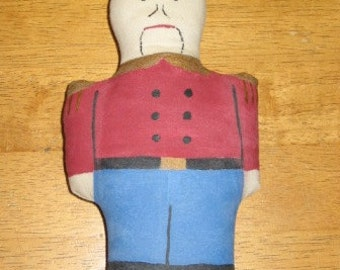 Nutcracker Soldier Ornie Bowl Filler Mailed Paper Pattern  by Sew Practical, Mom and Pop Craft