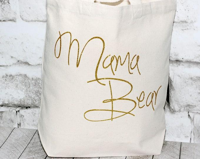 Featured listing image: Mama Bear Tote Bag